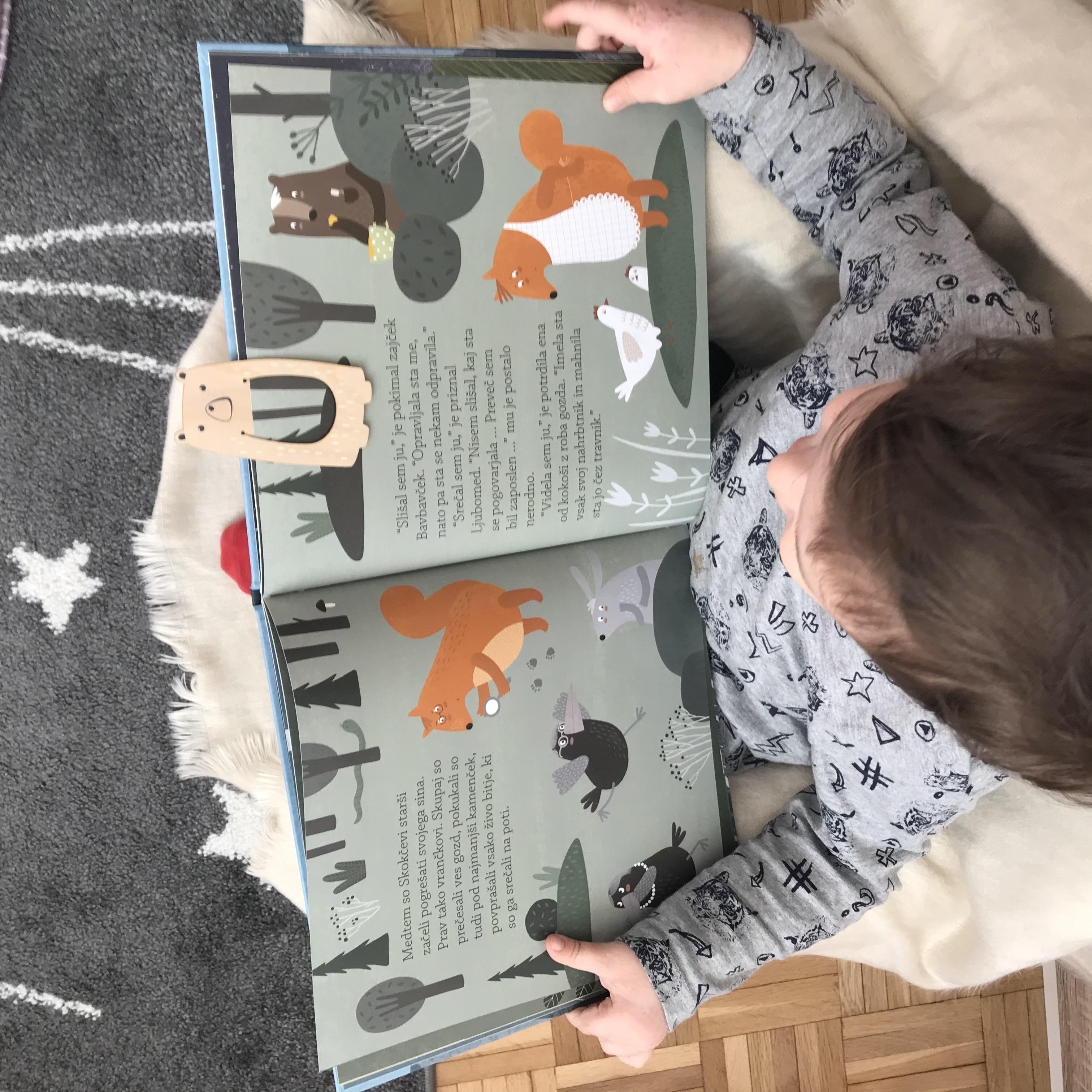 Zmenek s knjigo za družine (1-5) – marec, prva slika