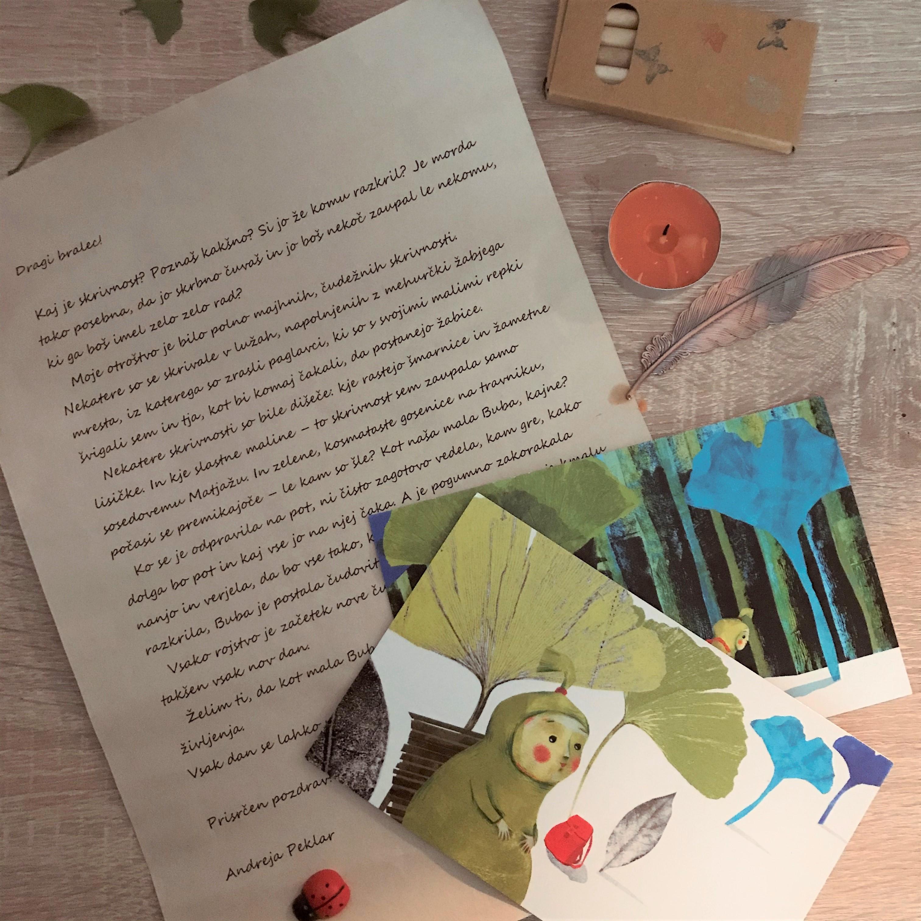 Zmenek s knjigo za otroke (1-5) – maj, tretja slika
