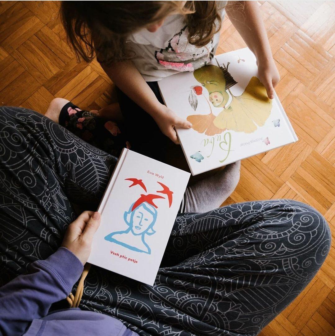 Zmenek s knjigo za družine (1-5) – maj, tretja slika